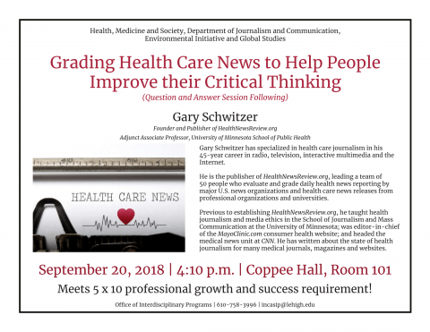Grading Health Care News to Help People Improve their