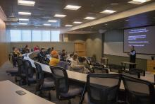 Professor Daniel Smith, Lecture, Students, Faculty, Professor Bruce Whitehouse, Nigeria, Global Studies